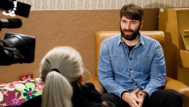 Dejan Mrkić - director of film Silence, Shorts Competition